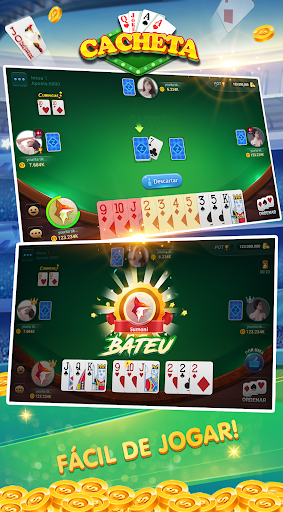Cacheta - Pife - Pif Paf - ZingPlay Jogo online android2mod screenshots 2