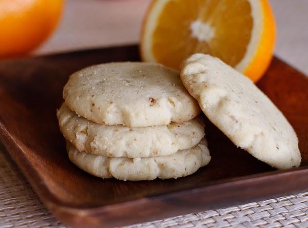 Orange Walnut Cookies Recipe