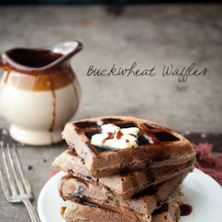 Fluffy Delicious Buckwheat Waffles