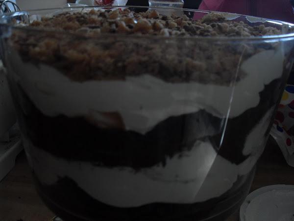 Brownie Heath Bar Trifle Recipe