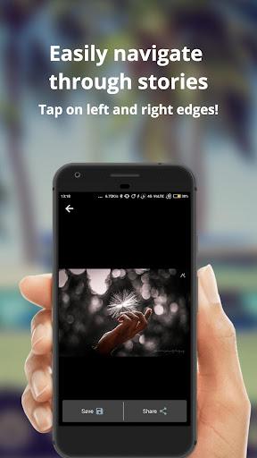 WhatSaga   Longer Stories   Save Status screenshot 4