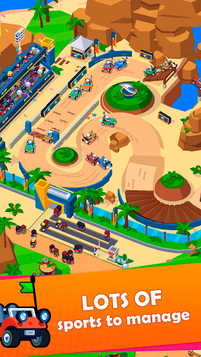 Idle Sports City Tycoon Game: Build a Sport Empire apkpoly screenshots 5