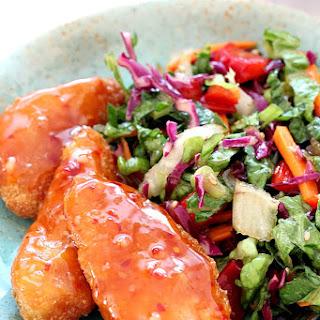 Asian Chopped Salad with Garlic Sesame Vinaigrette Recipe