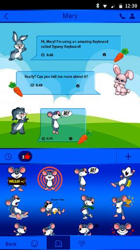 mod Cute Bunny Theme  Keyboard 4.5 screenshots 4