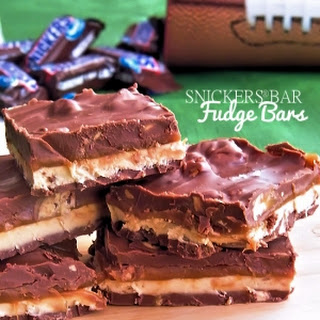 SNICKERS® Bar Fudge Bars