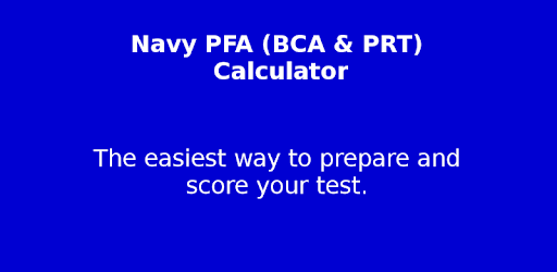 Navy Pfa Calc Apps On Google Play