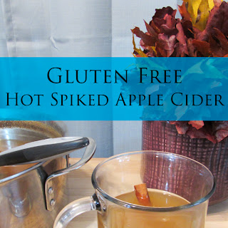 Gluten Free Hot Spiked Apple Cider