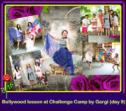 Photo: Bollywood lesson at Challenge Camp by Gargi (day 9)