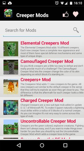 爬行MOD对于MCPE!|玩娛樂App免費|玩APPs
