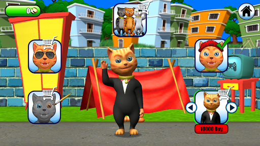 Talking Cat Leo: Virtual Pet 3.0 screenshots 19