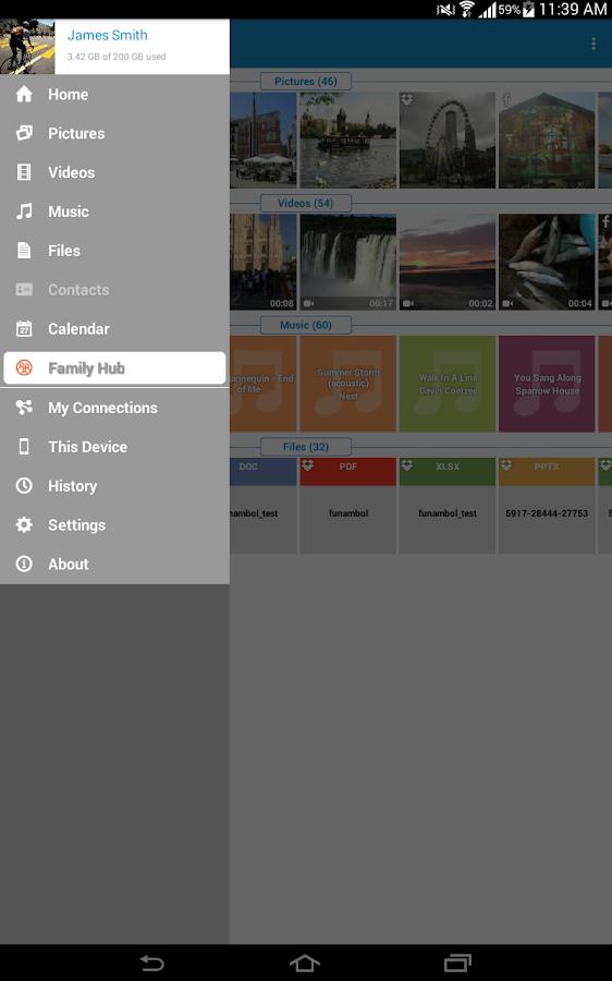 OneMediaHub - screenshot