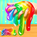 Fluffy Unicorn Slime Maker Simulator APK