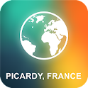 Picardy, France Offline Map icon