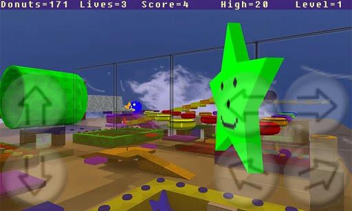 Donut Man 3D Alpha  screenshots 3