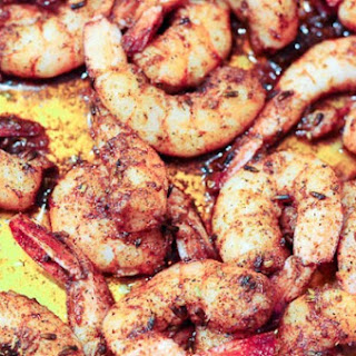 Simple Blackened Shrimp