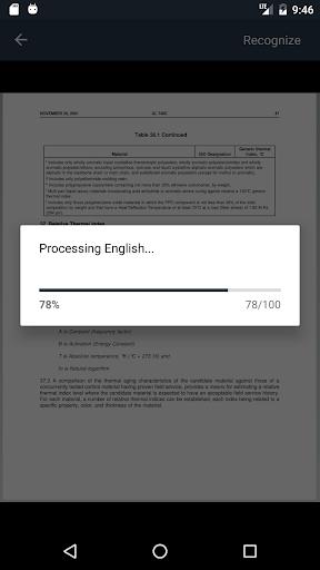 Simple OCR - Scanner Interface 2.2 screenshots 1