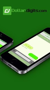 Dollar Digits Calling Text Second Phone Number App- screenshot thumbnail