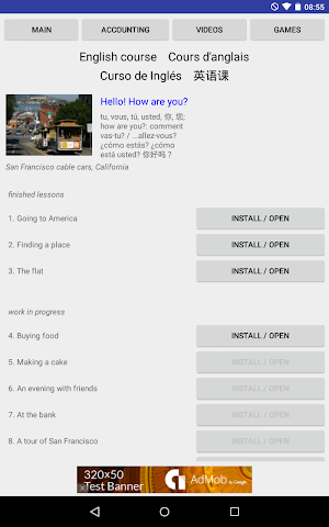 android English course Screenshot 2