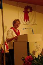 Photo: Der Panflöten Chor Basel wurde vorgestellt durch Frau Christine Baschong