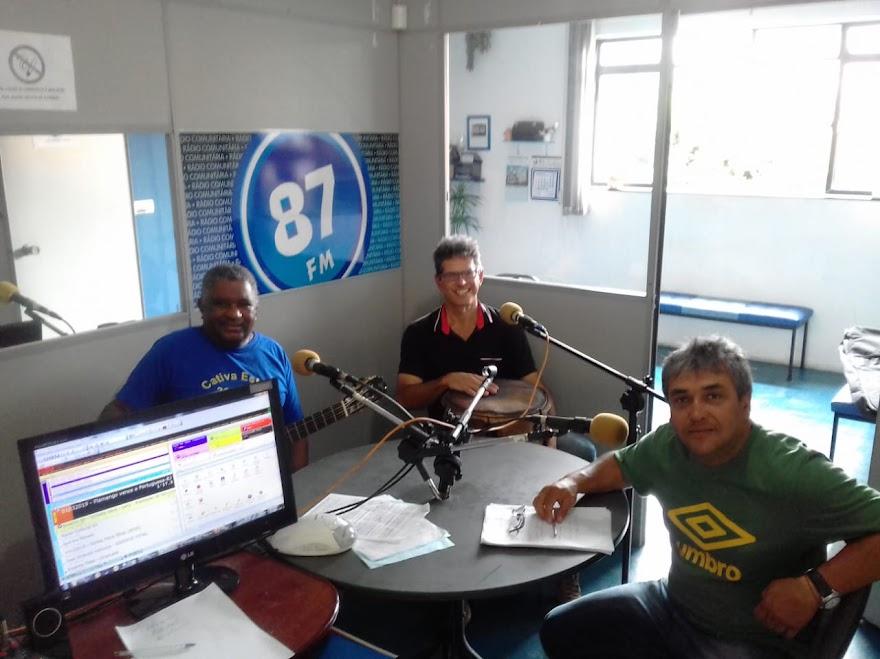 Antônio Carlos (Carlão), Luiz Fernando (Luiz da Timba) e Donacio Silva