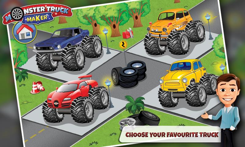 Build Monster Truck Fix Android Apps On Google Play