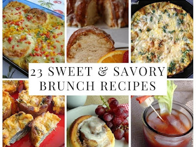 23 Sweet & Savory Brunch Recipes