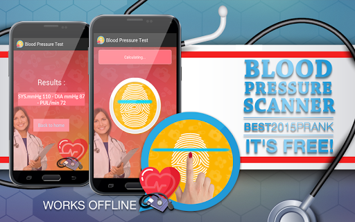 無料娱乐Appの血圧スキャナいたずら|HotApp4Game