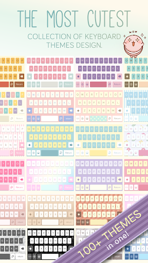 Pastel Keyboard Theme Color -  Add colorful design 이미지[5]