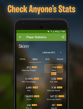 RoyaleStats for Fortnite Battle Royale Stats