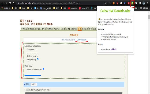 NTU Ceiba HW Downloader