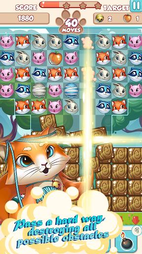 Lovely Pets PRO: Match 3  screenshots 5