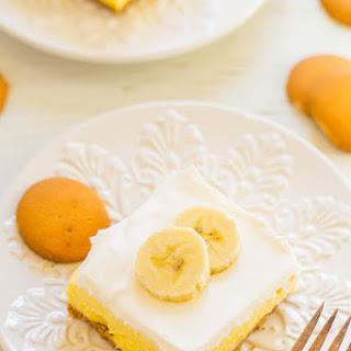 Banana Cream Pie Bars.