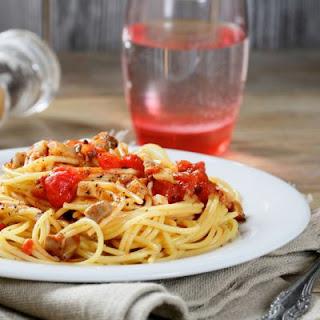 Chicken Tomato Spaghetti