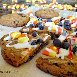 Candy Corn Pizza Cookie.