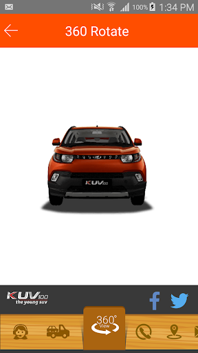 Mahindra KUV 100 app (apk) free download for Android/PC/Windows screenshot