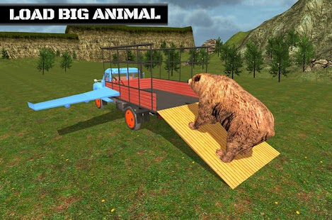 Animal Cargo Flying Truck screenshot