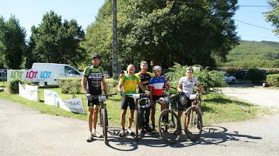 Photo: L'arrivée des champions : 80km en 4h.  BRAVO !..