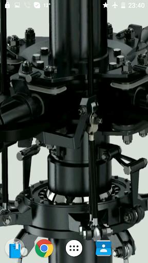 直升机3D录像的墙纸