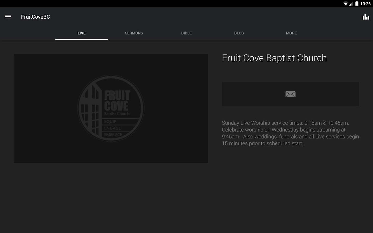 Fruit Cove Baptist- screenshot