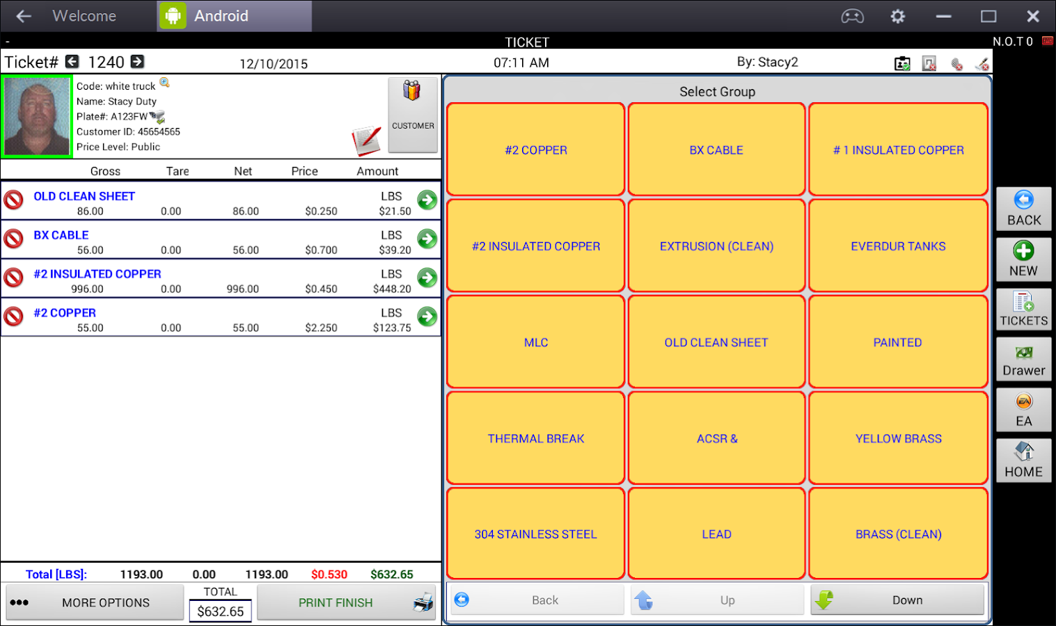 WEIGHPAY SCALE SOFTWARE- screenshot