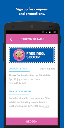 Baskin-Robbins screenshot