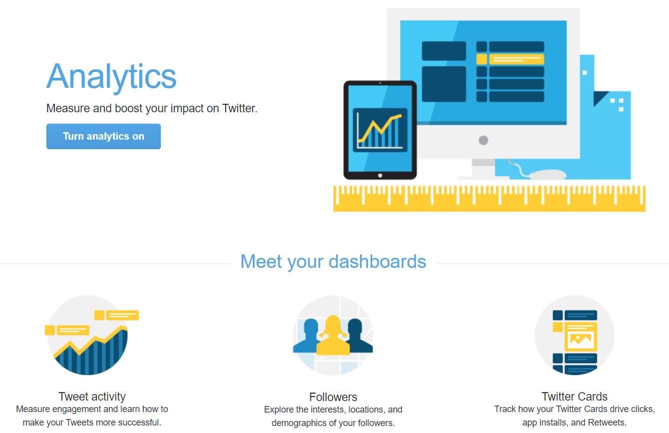 twitter analytics dashboards