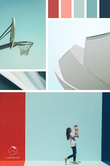 Color My Mood Bright - Brand Board Template