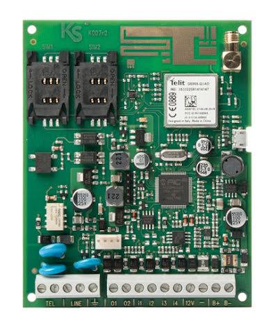 Larmsändare gemino 4 GSM/GPRS kretskort
