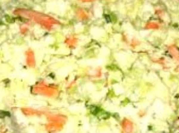 Mom's Coleslaw With A Kick