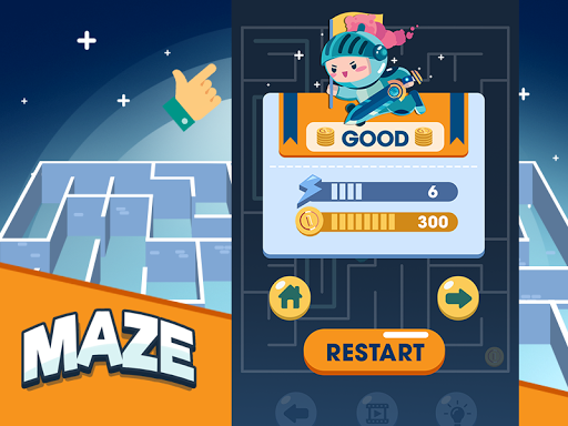 Maze - Jeux Gratuits Hors Ligne APK MOD (Astuce) screenshots 3