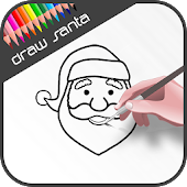 How to draw Santa Claus - Learn to draw Christmas