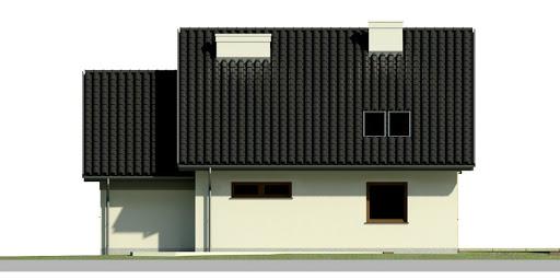 Dom przy Wiosennej 2 - Elewacja tylna