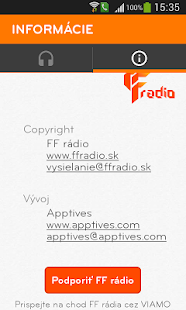 FF rádio- screenshot thumbnail
