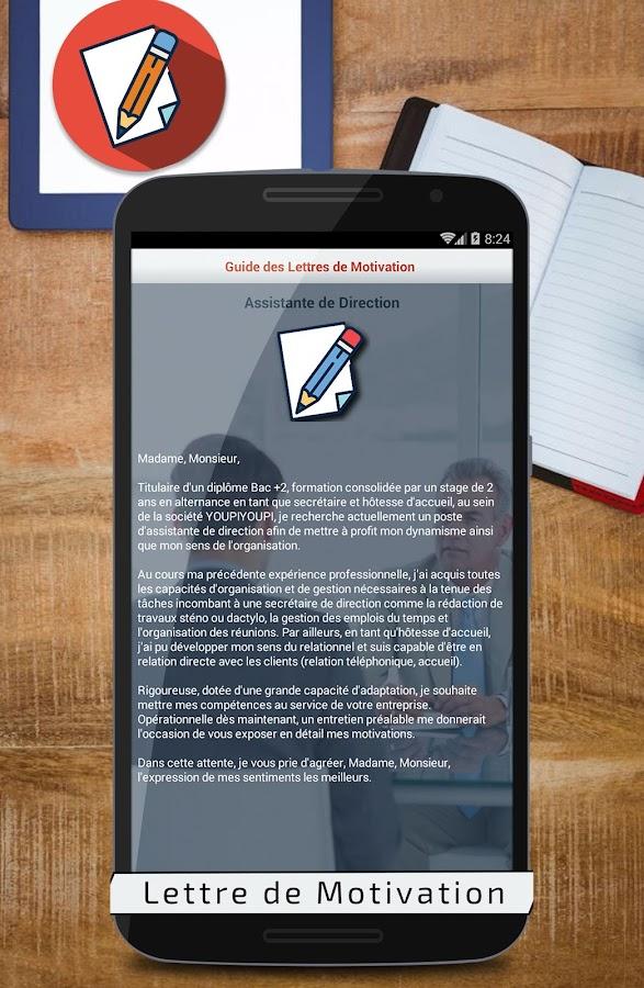 La lettre de motivation pour l universit    Cover letter for french masters  degree or university  Alexia R